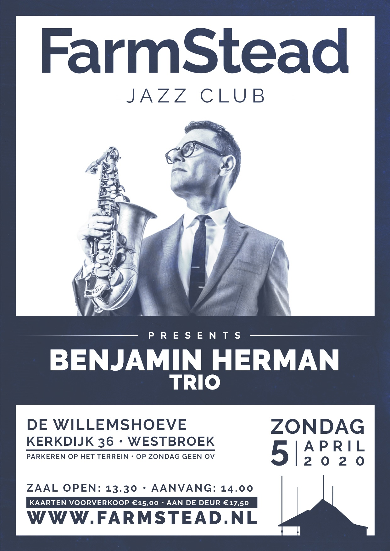 FarmStead Jazz Club presents: Benjamin Herman Trio